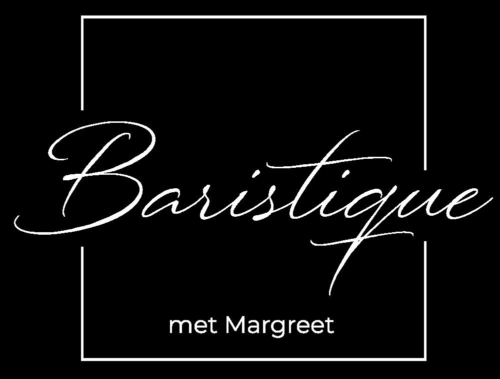 Baristique logo wit